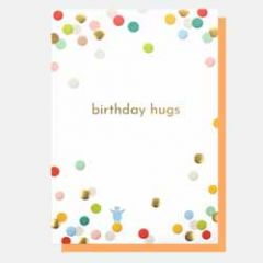 wenskaart caroline gardner - birthday hugs