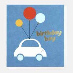 wenskaart caroline gardner - birthday boy - auto
