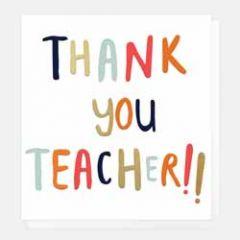 wenskaart caroline gardner - thank you teacher!!