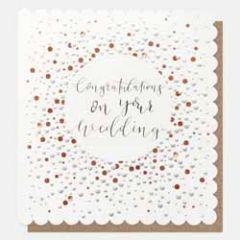 grote wenskaart caroline gardner- congratulations on your wedding