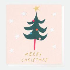kerstkaart caroline gardner - merry christmas - kerstboom