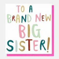 geboortekaartje caroline gardner - to a brand new big sister