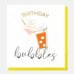 verjaardagskaart caroline gardner - birthday bubbles
