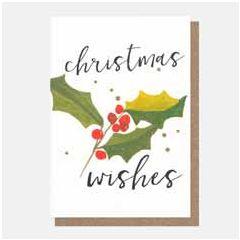 10 kerstkaartjes caroline gardner - christmas wishes - hulst | muller wenskaarten