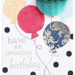 3d verjaardagskaart caroline gardner - pompom - have an amazing birthday