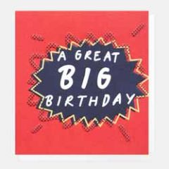 wenskaart caroline gardner - a great big birthday