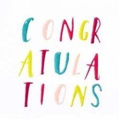felicitatiekaart caroline gardner - congratulations