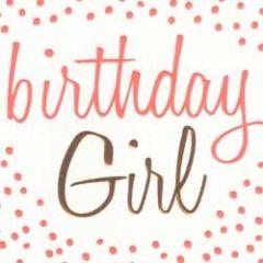 verjaardagskaart caroline gardner - neon - birthday girl