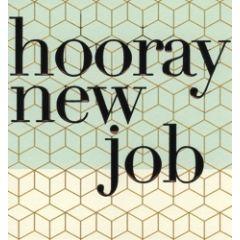 wenskaart caroline gardner - hooray new job