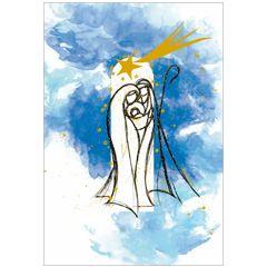 6 christelijke kerstkaarten busquets - 7 | muller wenskaarten