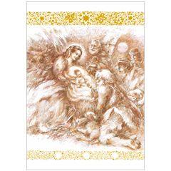 6 christelijke kerstkaarten busquets - 6 | muller wenskaarten