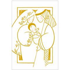 6 christelijke kerstkaarten busquets - 5 | muller wenskaarten