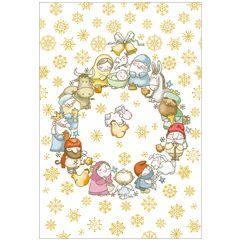 6 christelijke kerstkaarten busquets - 4 | muller wenskaarten