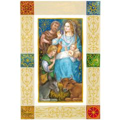 6 christelijke kerstkaarten busquets - 1 | muller wenskaarten