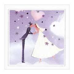 trouwkaart la clef des songes - bruidspaar