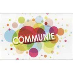 wenskaart communie - cirkels