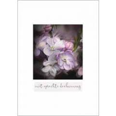 condoleancekaart - met oprechte deelneming