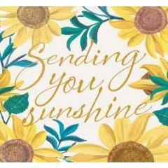 wenskaart caroline gardner - sending you sunshine