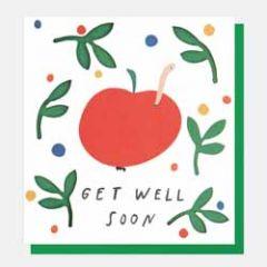 beterschapskaart caroline gardner - get well soon - appel