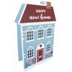 3d wenskaart paper dazzle - happy new home