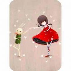 santoro eclectic cards -  kori kumi - dansen