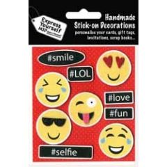 plak decoraties - smileys emoticons