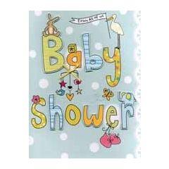 grote zwangerschapskaart A4 - baby shower from all of us