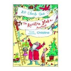20 kerstkaarten woodmansterne - quentin blake
