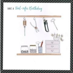 wenskaart second nature - have a tool-rific birthday
