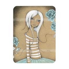 meisje in gestreepte trui - Santoro's Eclectic Cards