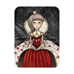santoro eclectic cards - the queen of hearts