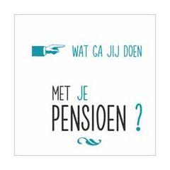 wenskaart - wat ga jij doen met je pensioen