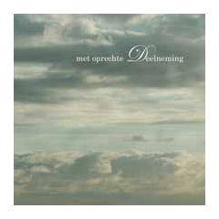 condoleancekaart - met oprechte deelneming - wolkenlucht
