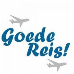 wenskaart - goede reis - vliegtuigen
