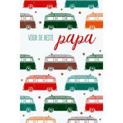vaderdagkaart - voor de beste papa - auto's