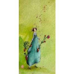 wenskaart  gaelle boissonnard - bloemen en planten