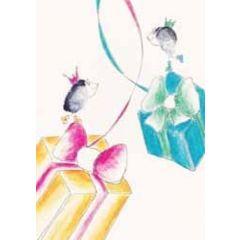 felicitatiekaart klara de kraai - hangende cadeaus