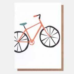 wenskaart caroline gardner - neo-pops - fiets