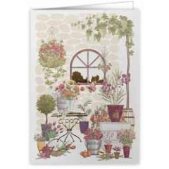 wenskaart A4 - bloemen en planten