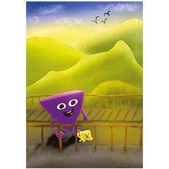 ansichtkaart -  hophew voor bergen