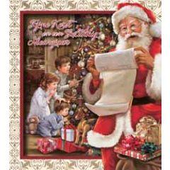 8 kerstkaarten - fijne kerst en een gelukkig nieuwjaar - kerstman