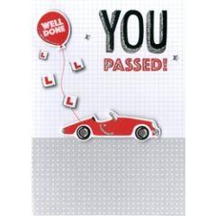 felicitatiekaart rijbewijs - you passed! well done