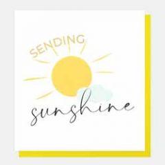 wenskaart caroline gardner - sending sunshine