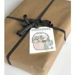 cadeaukaartje of bloemenkaartje mouse & pen - babyshower