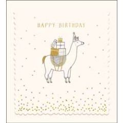 verjaardagskaart the proper mail company - happy birthday - lama