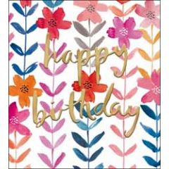 verjaardagskaart the proper mail company - happy birthday - bloemen