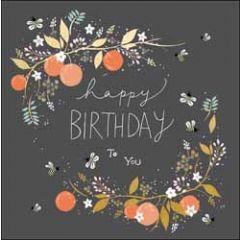 verjaardagskaart woodmansterne - happy birthday to you