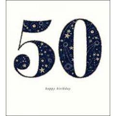 50 jaar - verjaardagskaart the proper mail company - 50 happy birthday