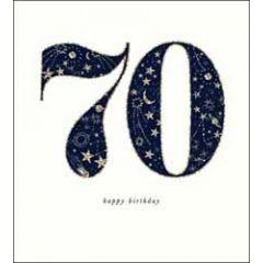 70 jaar - verjaardagskaart the proper mail company - 70 happy birthday