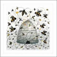 wenskaart woodmansterne - bijenkorf